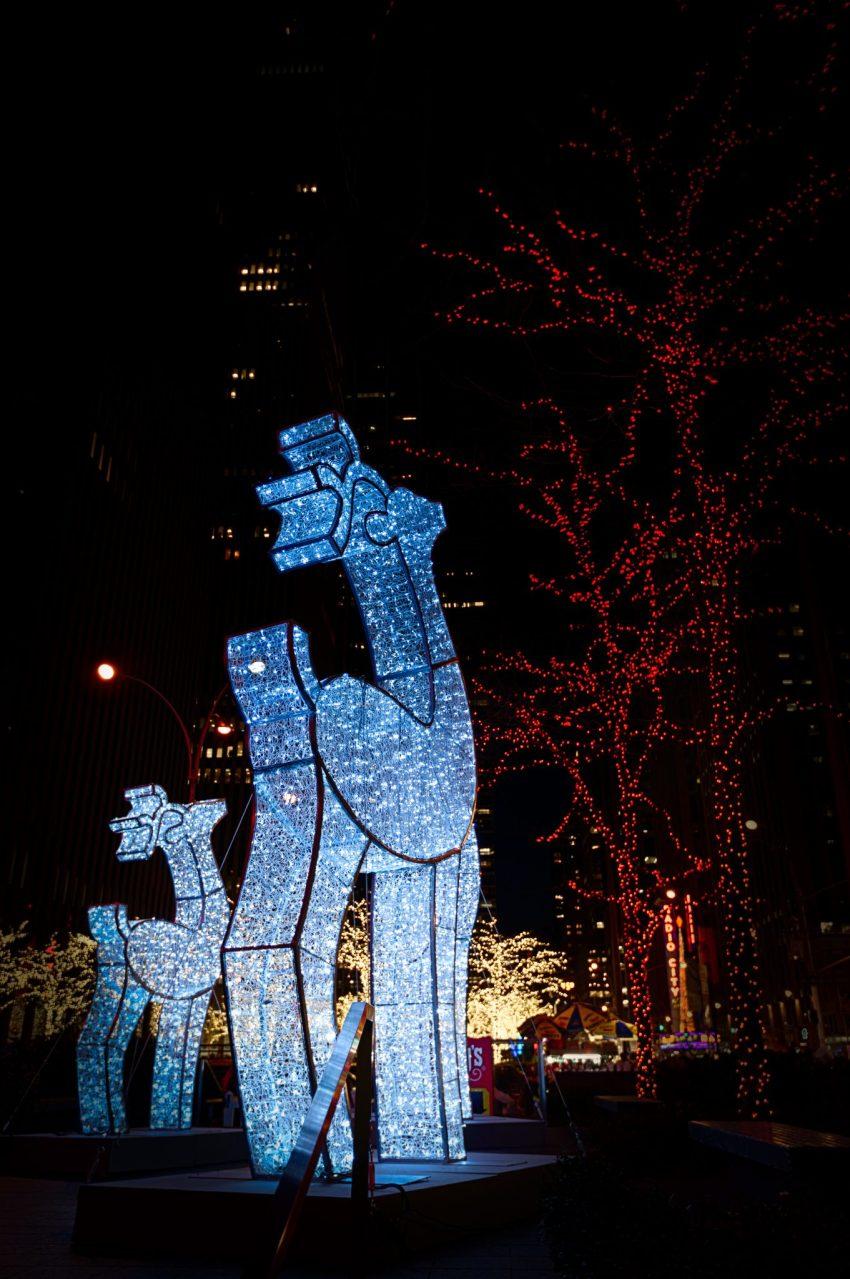 Visit NYC at Christmas