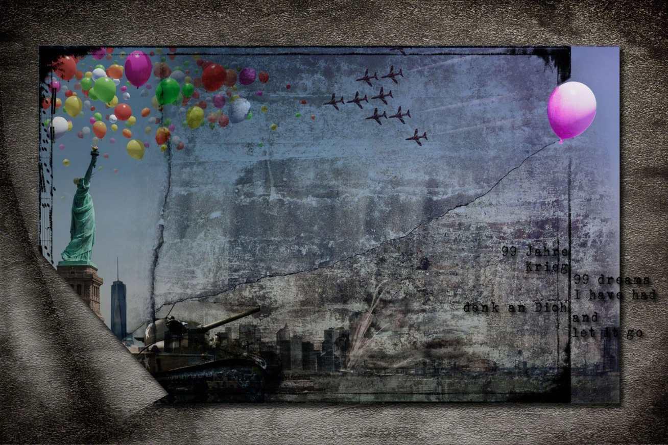99 luftballons, balloons, nena