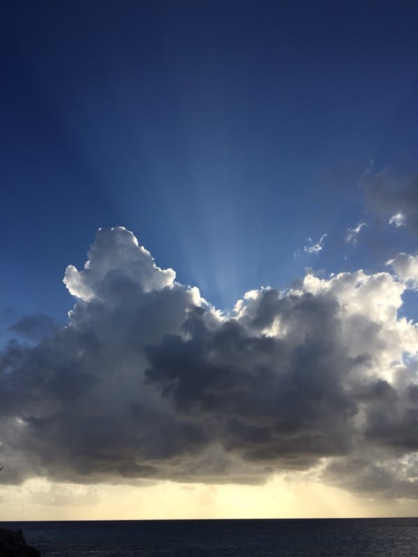 Clouds & Sunrays