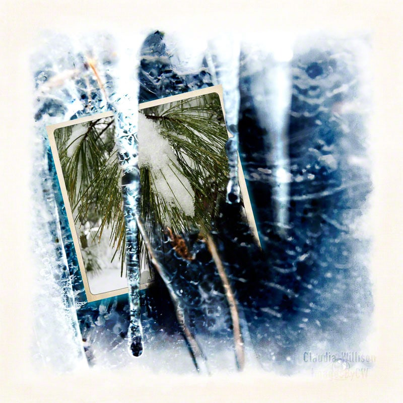 winter, ice, grunge, goodbye