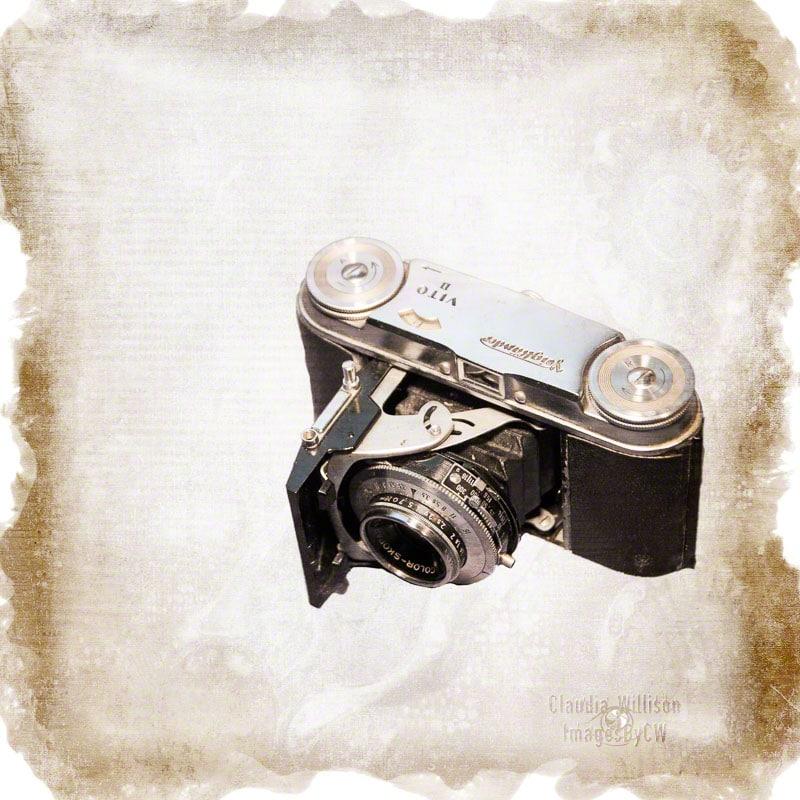 camera, vintage, voigtlander