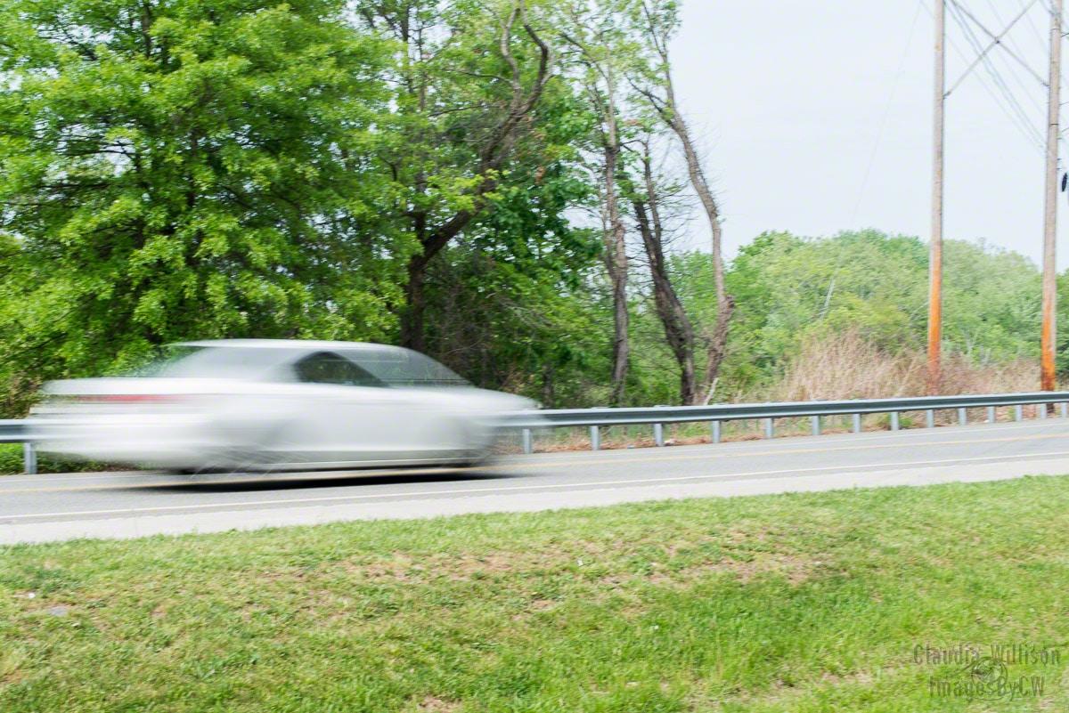 panning, blur, car