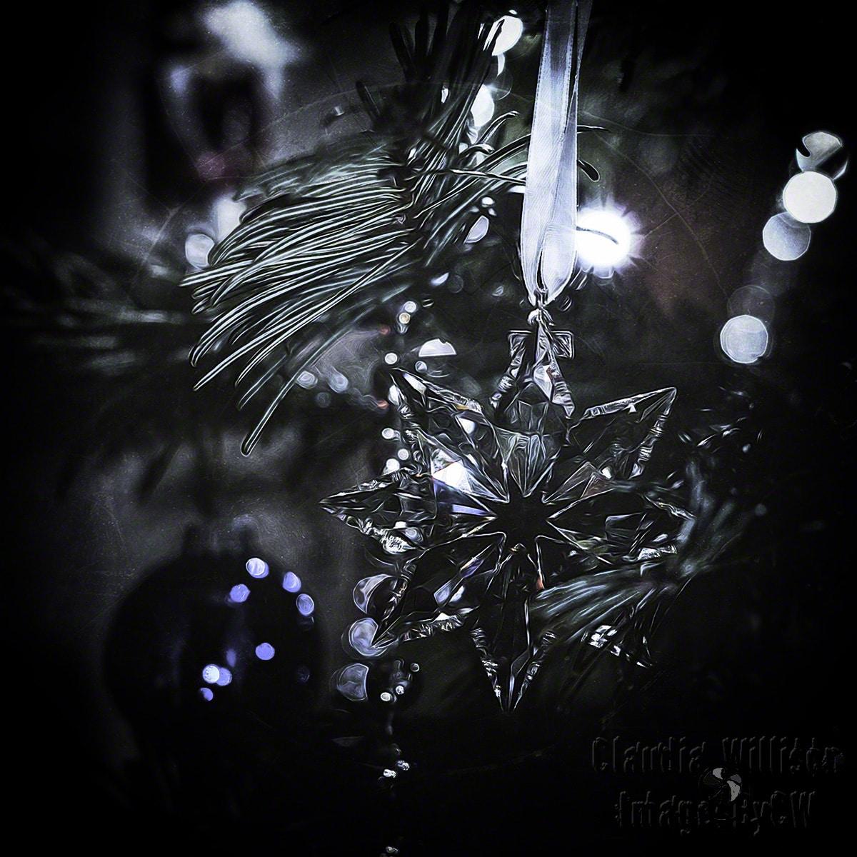christmas, crystal, swarowski, photoshop