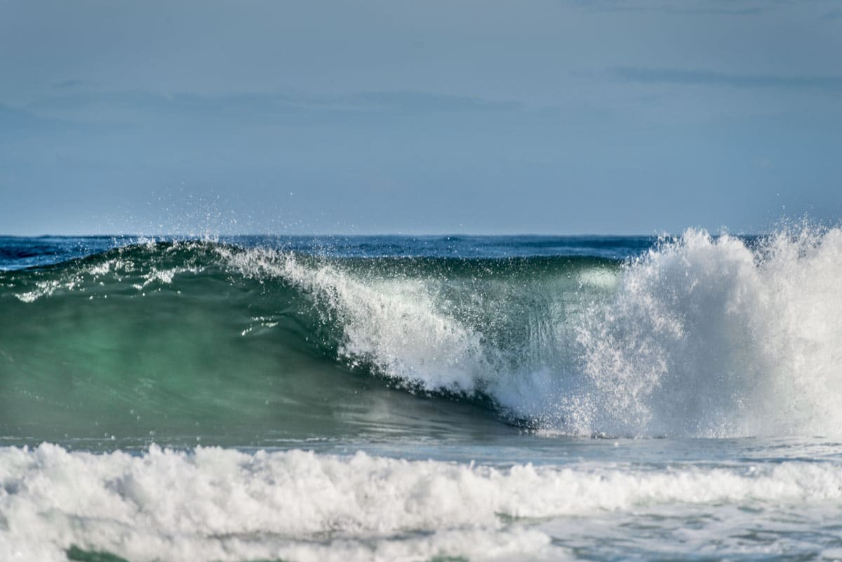 obx, wave, ocean
