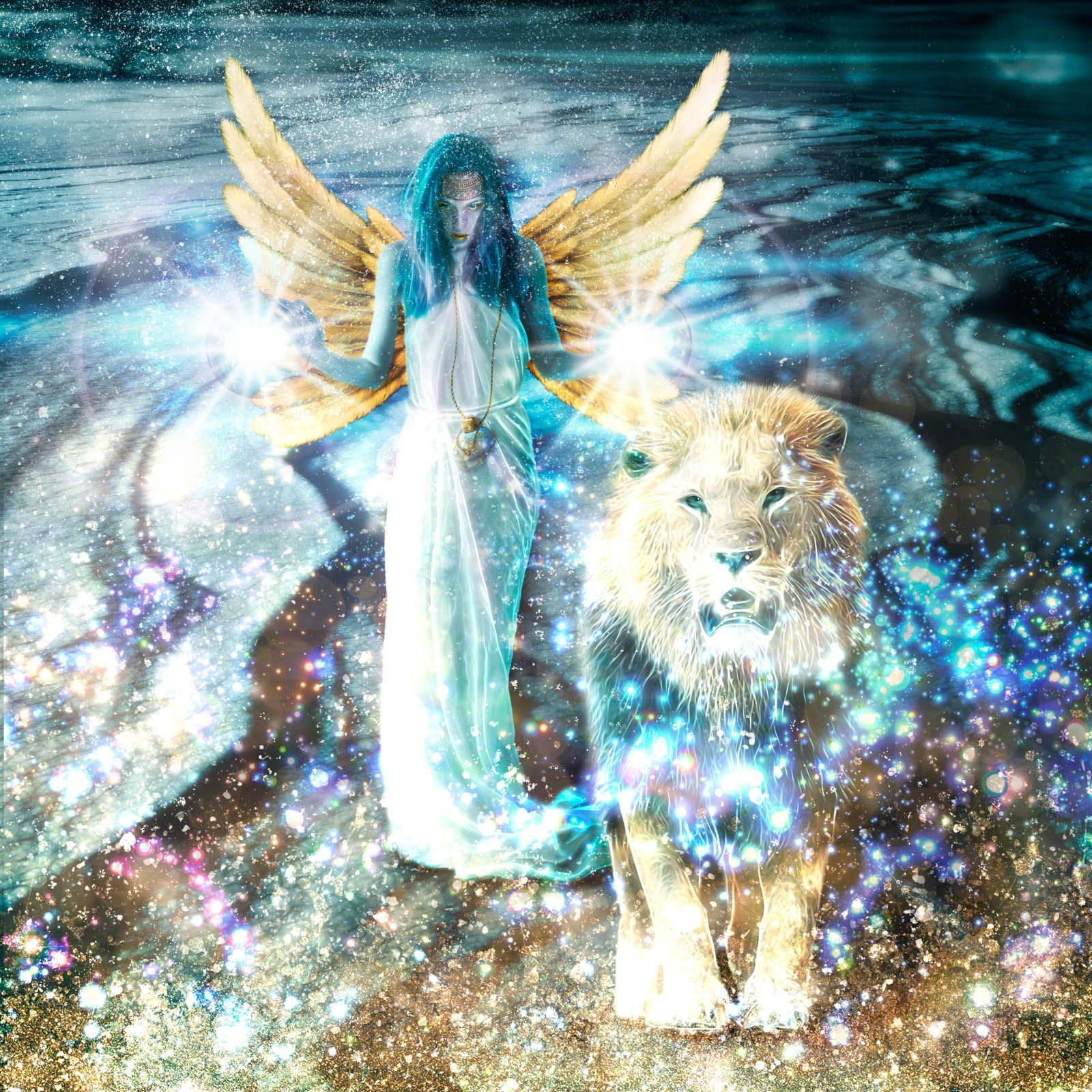 Digital Art: Lion