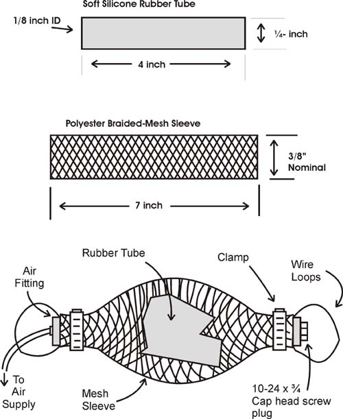 How Air Muscle actuators work, page 2