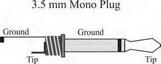 3 5 mm plug wiring diagram mono all data
