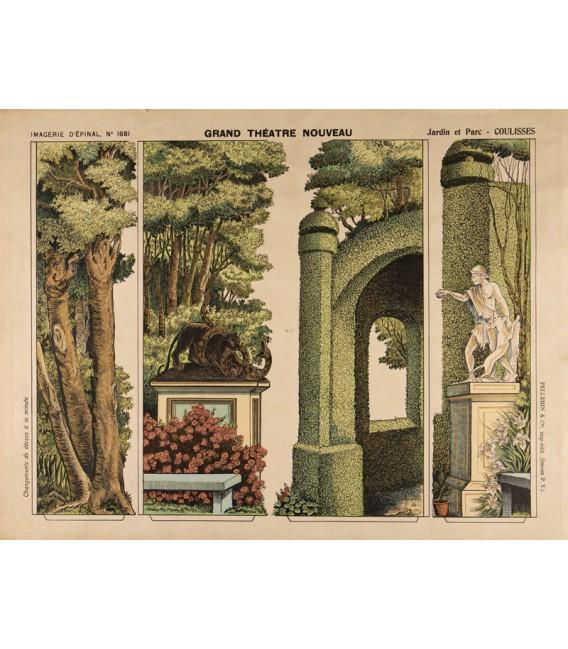 GRAND THATRE NOUVEAU Jardin et Parc  Maison Images dpinal