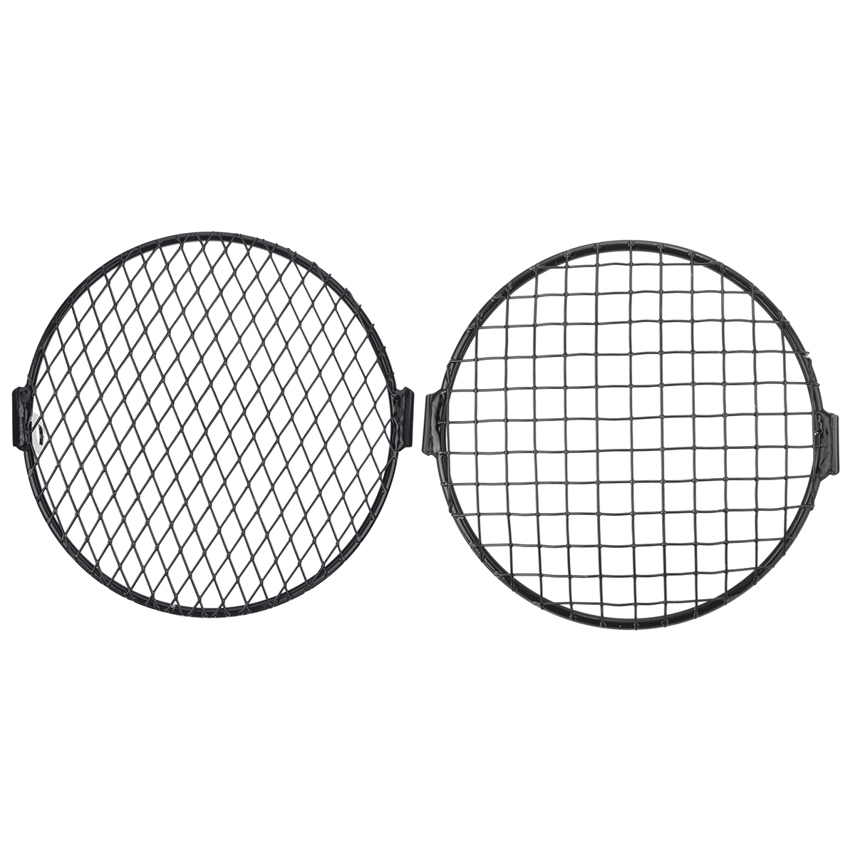 7inch Motorcycle Headlight Mesh Grill Mask Protector Guard
