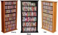 464 CD 234 DVD Tower DVD CD Storage Rack Shelf 5 colors | eBay