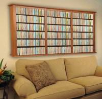 Wall Mount CD DVD Storage Rack 1026 CD 480 DVD - NEW | eBay