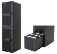 Spring Eject 400 CD DVD Storage Rack Drawer Cabinet NEW