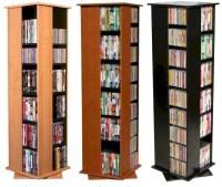612 CD 288 DVD Floor Spinner Storage Tower Rack - NEW   eBay
