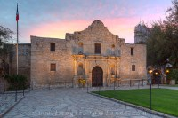 The Alamo at Sunrise 5 : The Alamo : Images from Texas