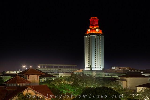 Image result for UT Tower lit up