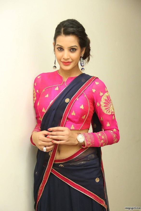 diksha panth look hot in saree imeges
