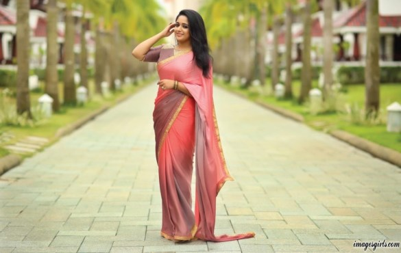 kavya madhavan latest hot and sexy photos in saree