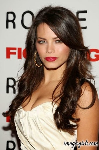 jenna dewan hot photos in tight dress and red color lip polish