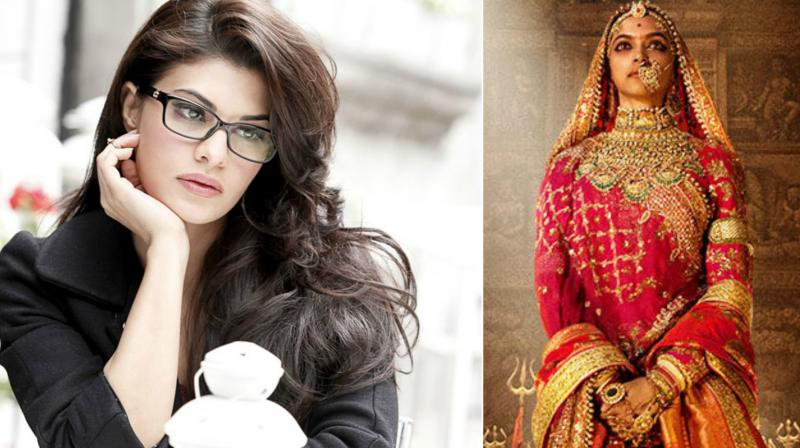 Padmavati row: this is what Jacqueline Fernandez has to say about Deepika's film