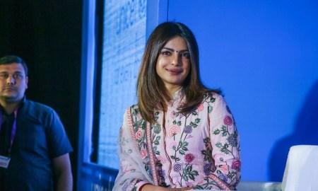 Priyanka Chopra Images At UNICEF India Press Conference in New Delhi
