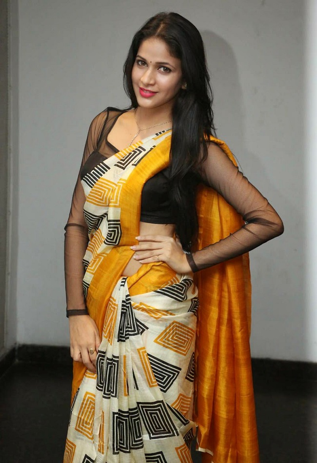 Lavanya Tripathi Latest Photos In Hot Saree