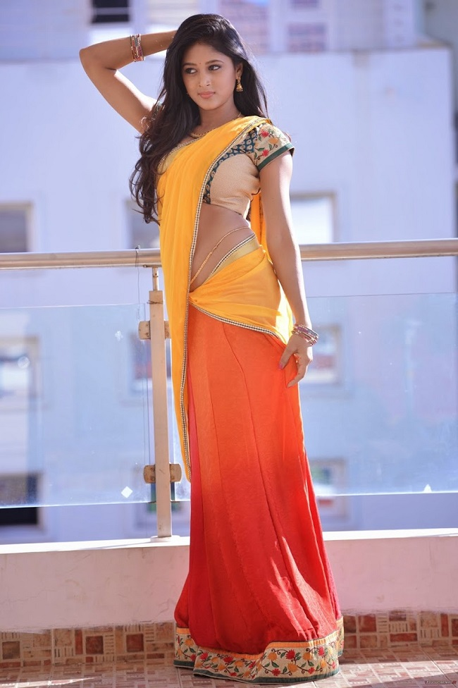 Sushma Raj Hot Photos in Half Saree