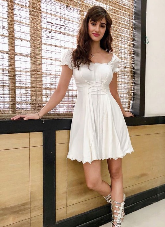 Disha Patani Latest Photos in Short Dress