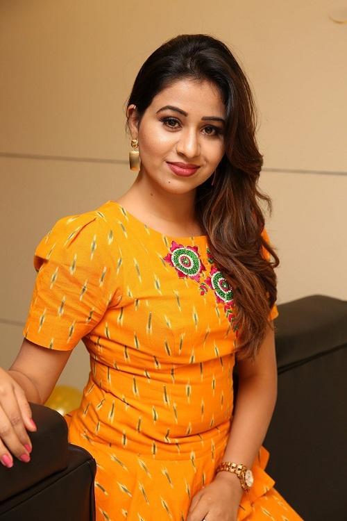 Manali Rathod Photos In Yellow Dress
