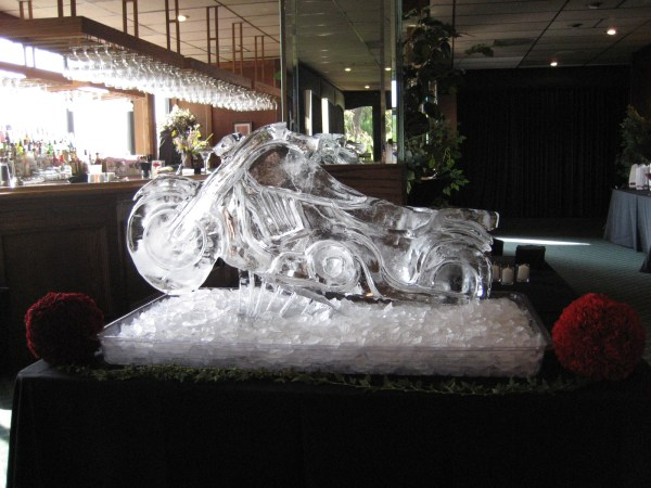 In Ice - Performance Carving