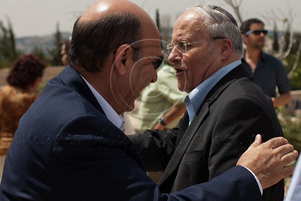 Shaul Mofaz and Zevulun Orlev