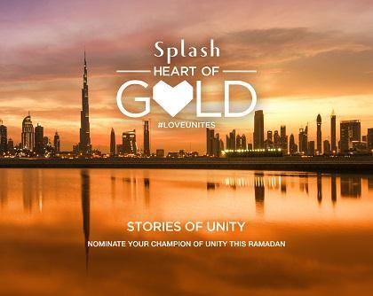 Splash's Ramadan Heart of Gold campaign