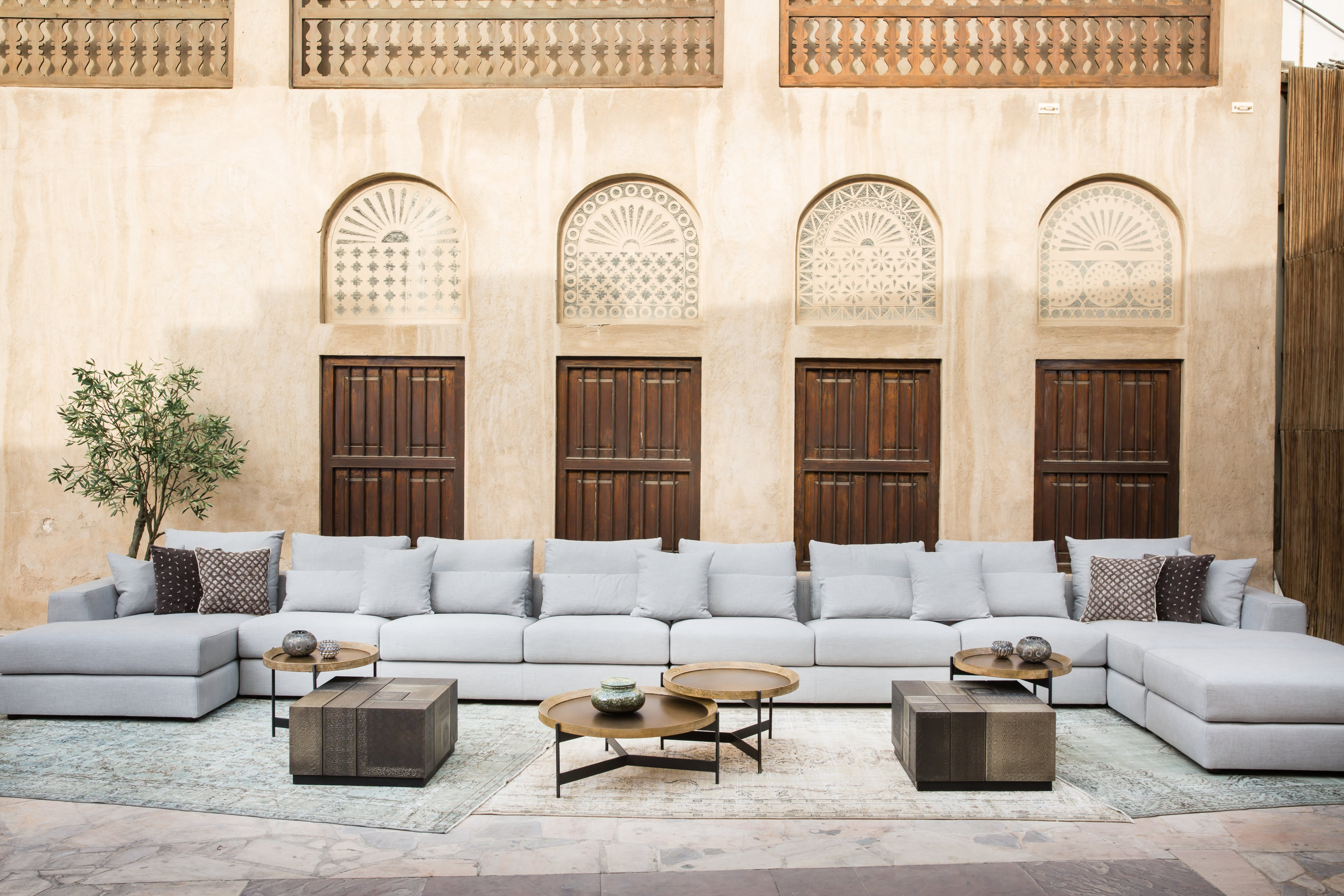 With Approach Of The Holy Month Of Ramadan, Home Grown Furniture Brand  Marina Home Interiors Sets The Stage By Introducing Arabian Majlis Settings  That ...