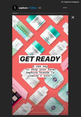 Sephora launches Instagram checkout