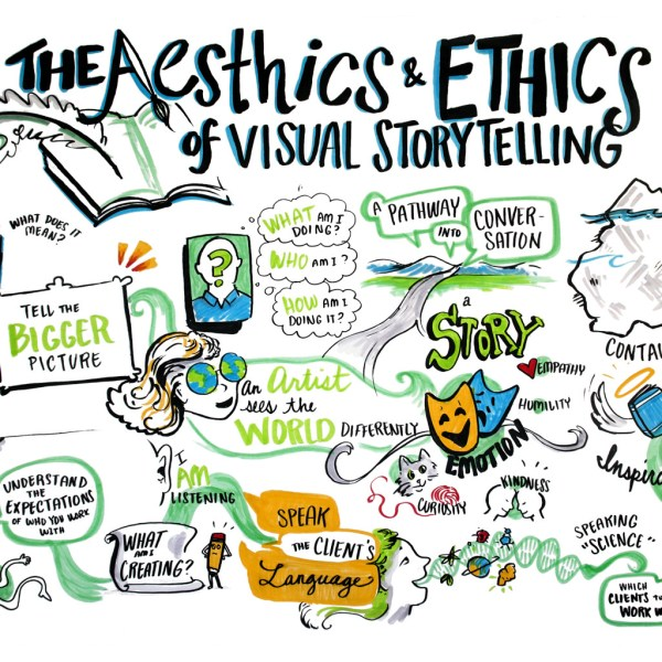 international forum for visual practitioners aesthetics and ethics of visual storytelling liisa sorsa anthony weeks graphic recording graphic facilitation ifvp