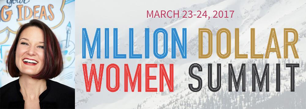 ImageThink co founder Heather Willems speaks at the Million Dollar Women Summit, March 24