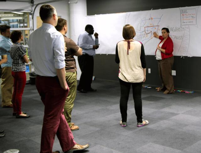 imagethink workshops teach participants graphic facilitation