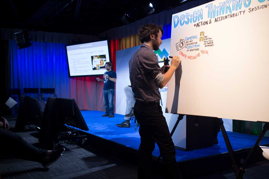 graphic recording, retention with visuals, conference keynotes