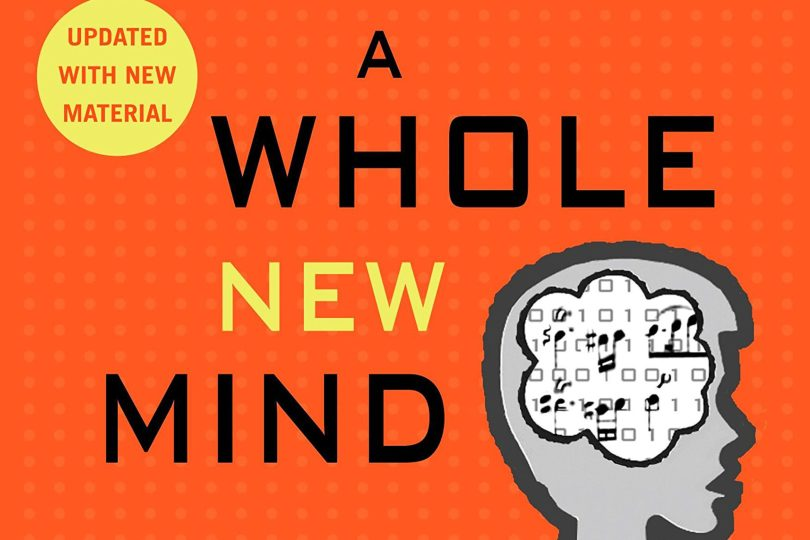 A Whole New Mind by Daniel H. Pink, book cover cropped