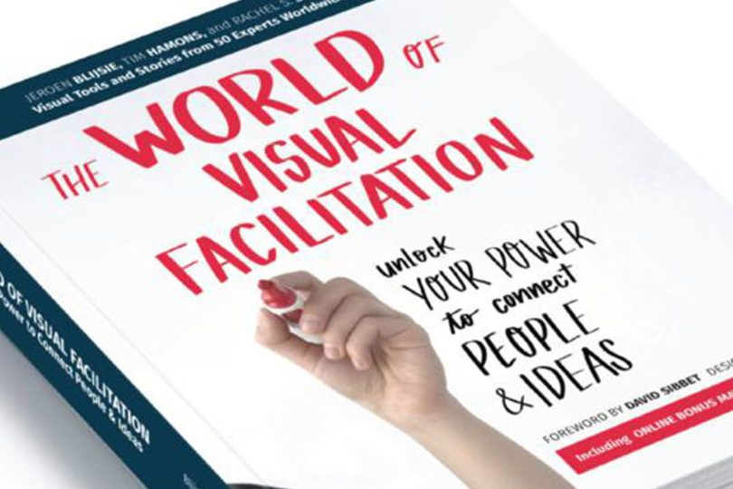 The World of Visual Facilitation book cover, published by the International Forum of Visual Practitioners, cropped