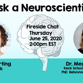 ask a neuroscientist with Dr. Megan Herting, PhD and Nora Herting