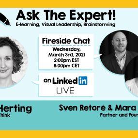 Nora Herting, Mara Callaert, and Sven Retore on ASK THE EXPERT!