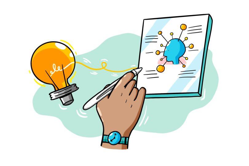 ImageThink icon - translating ideas into strategic illustration and visual storytelling