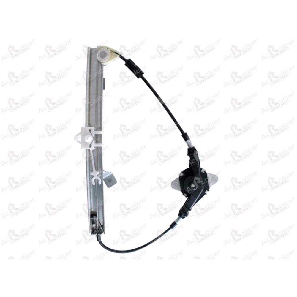 Rear Left Manual Window Regulator For Fiat Punto (188