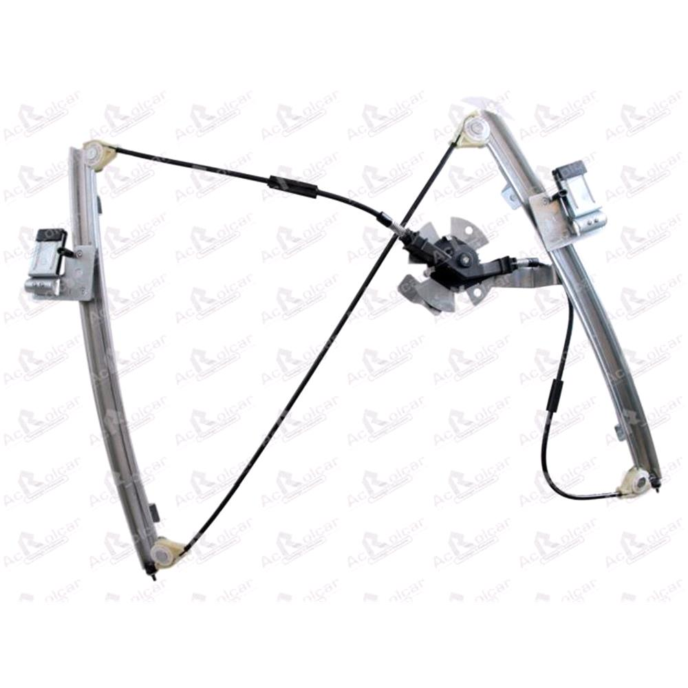 Front Right Manual Window Regulator For Vw Polo (6n1