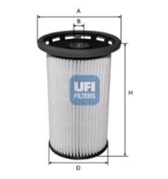 ufi fuel filter for volkswagen tiguan 2007 to 2015 2 0 tdi 140hpufi fuel filter for [ 1000 x 1000 Pixel ]