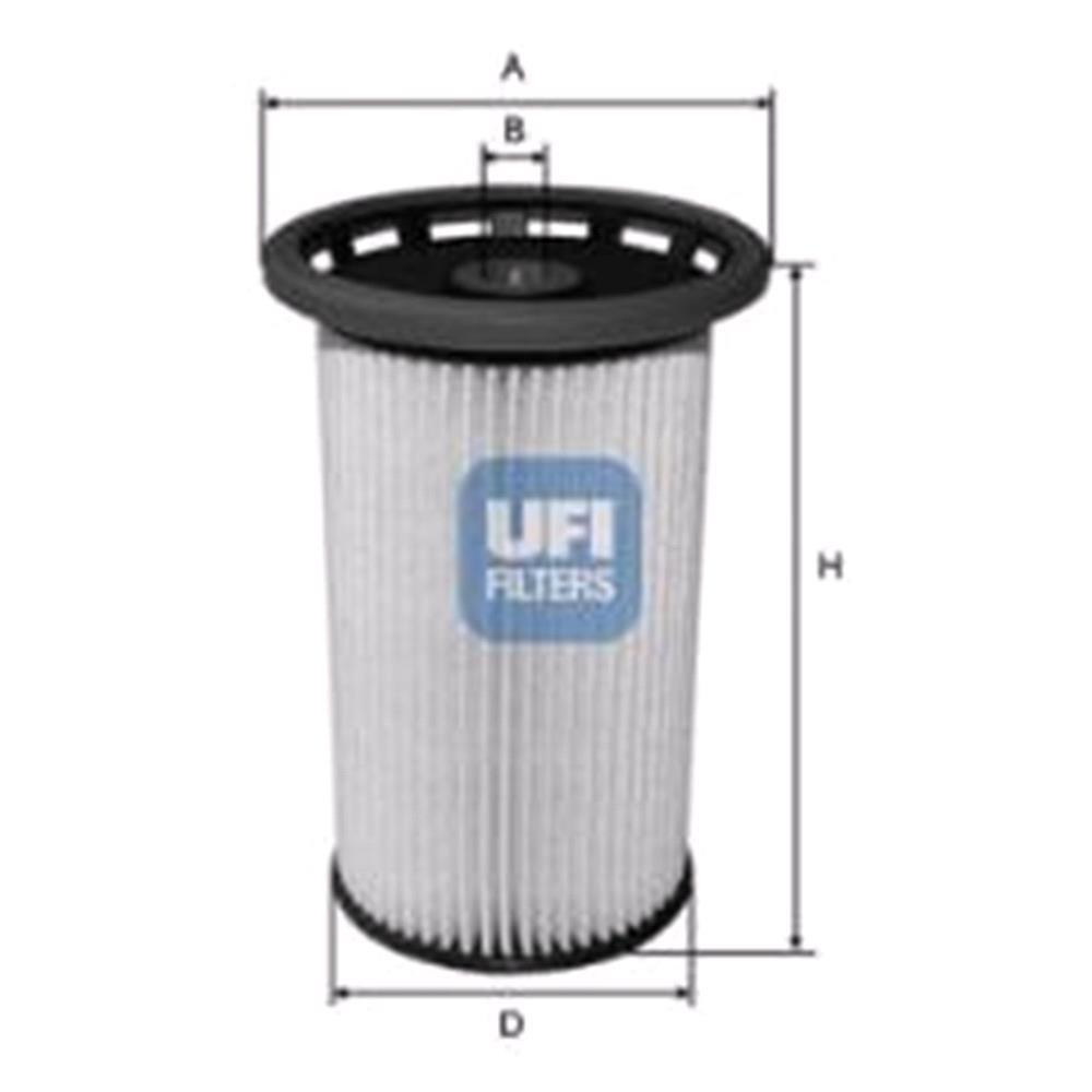 medium resolution of ufi fuel filter for volkswagen tiguan 2007 to 2015 2 0 tdi 140hpufi fuel filter for
