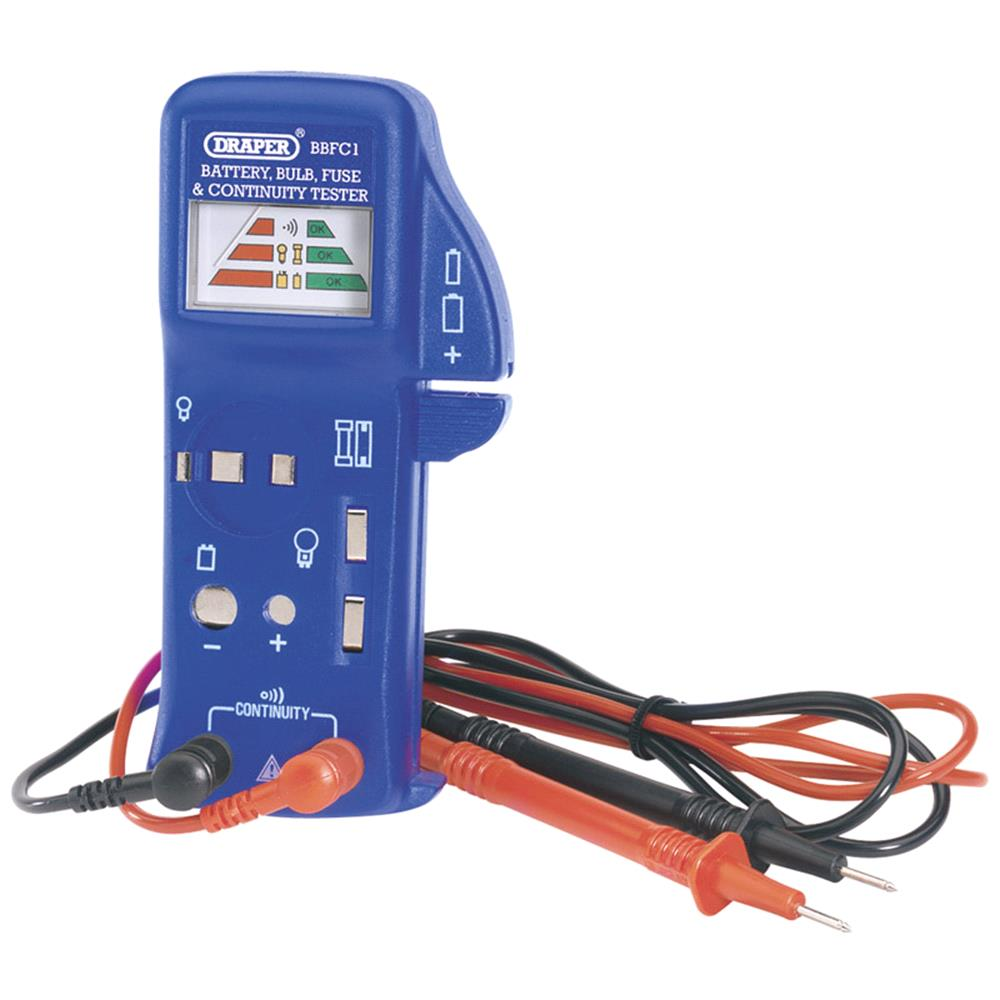 hight resolution of fuse tester