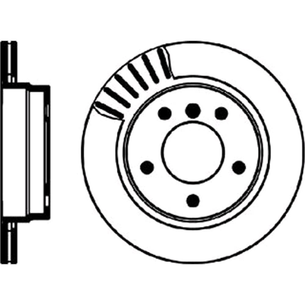Brake discs mintex rear brake discs pair