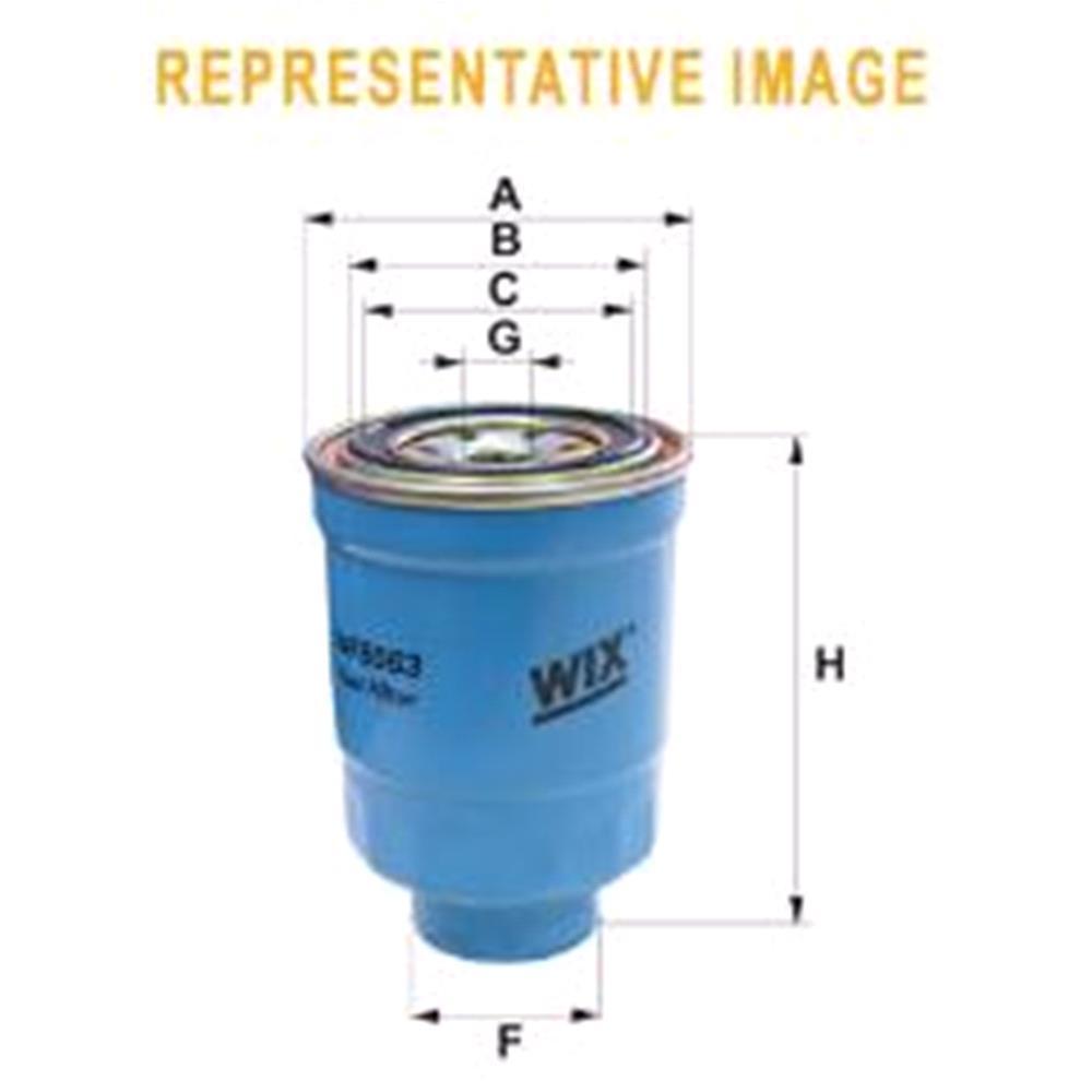 medium resolution of wix filtron fuel filter