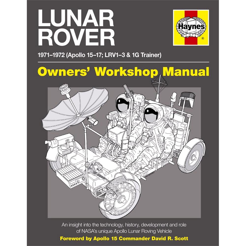 medium resolution of haynes lunar rover manual 1971 1972 apollo 15 17 lrv1 3 and 1g trainer